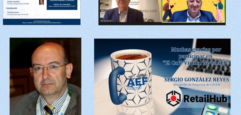 Cafe AEF con Sergio Gonzalez