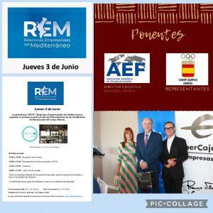 Comida de trabajo e Alicante con REM